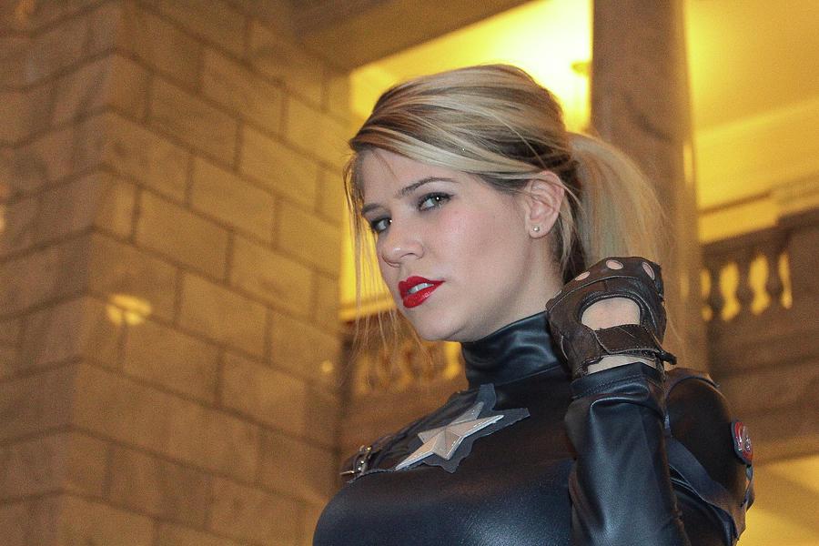 Cosplay Photograph - Captain America by Billy Joe