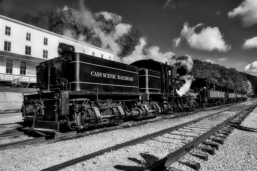 Cass Scenic Railroad Photograph - Cass Scenic Railroad by Mountain Dreams
