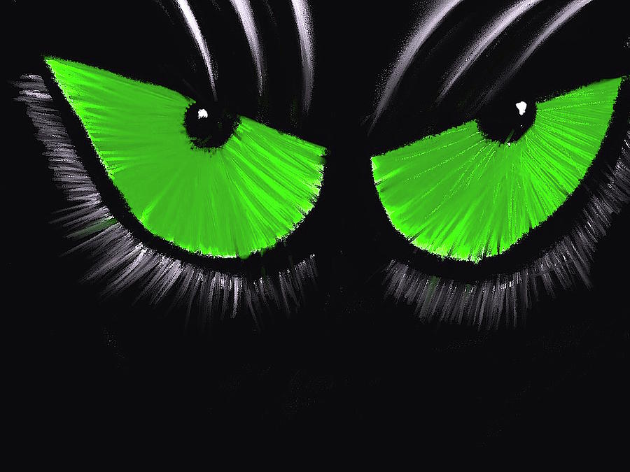 Cat Eyes by James Adger