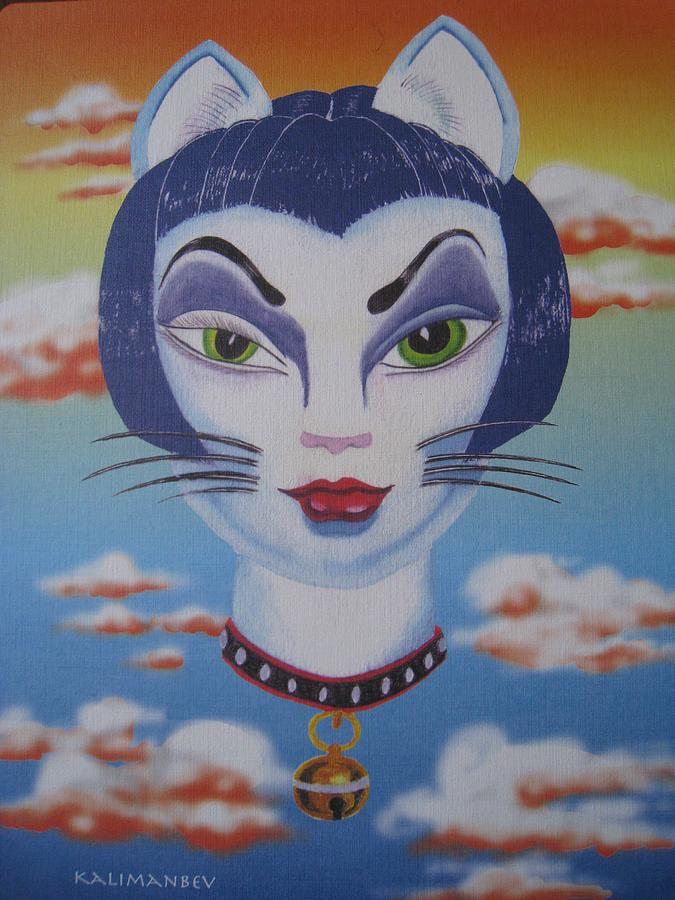 Cat Ho Painting by Roger Golden