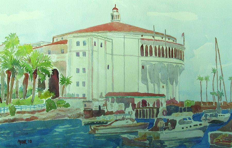 Catalina Island Painting by Azor Martinez