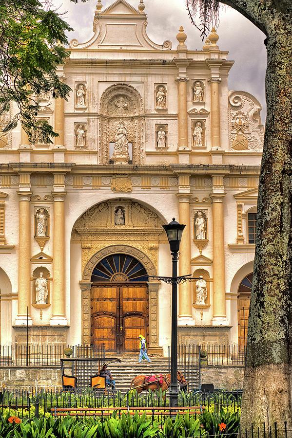 Antigua Guatemala Photograph - Catedral Antigua Guatemala - Guatemala Vii by Totto Ponce