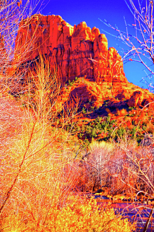 Cathedral Rock Photograph - Cathedral Rock by Paul Kloschinsky