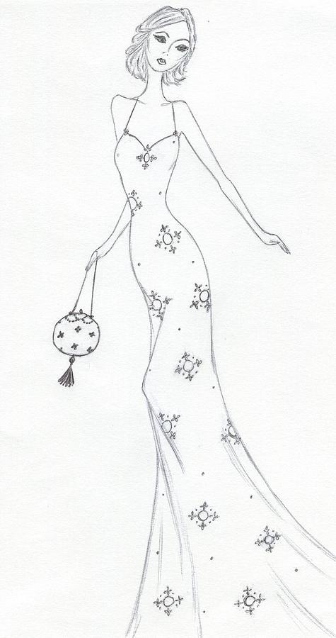 Cb10 Drawing by Christine Corretti