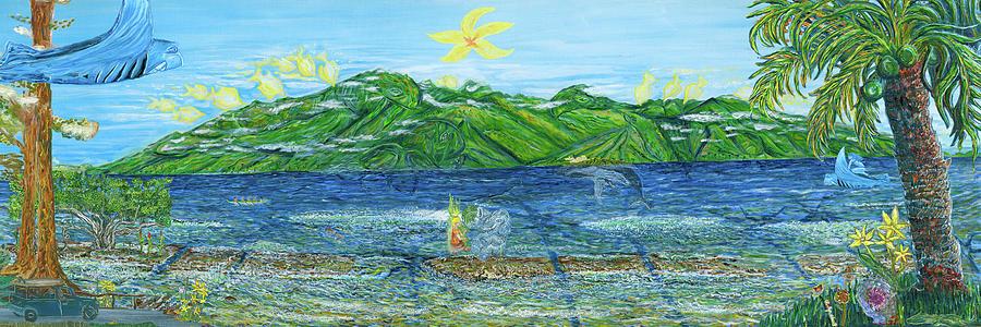 Celebration Painting - Celebration by Podge Elvenstar