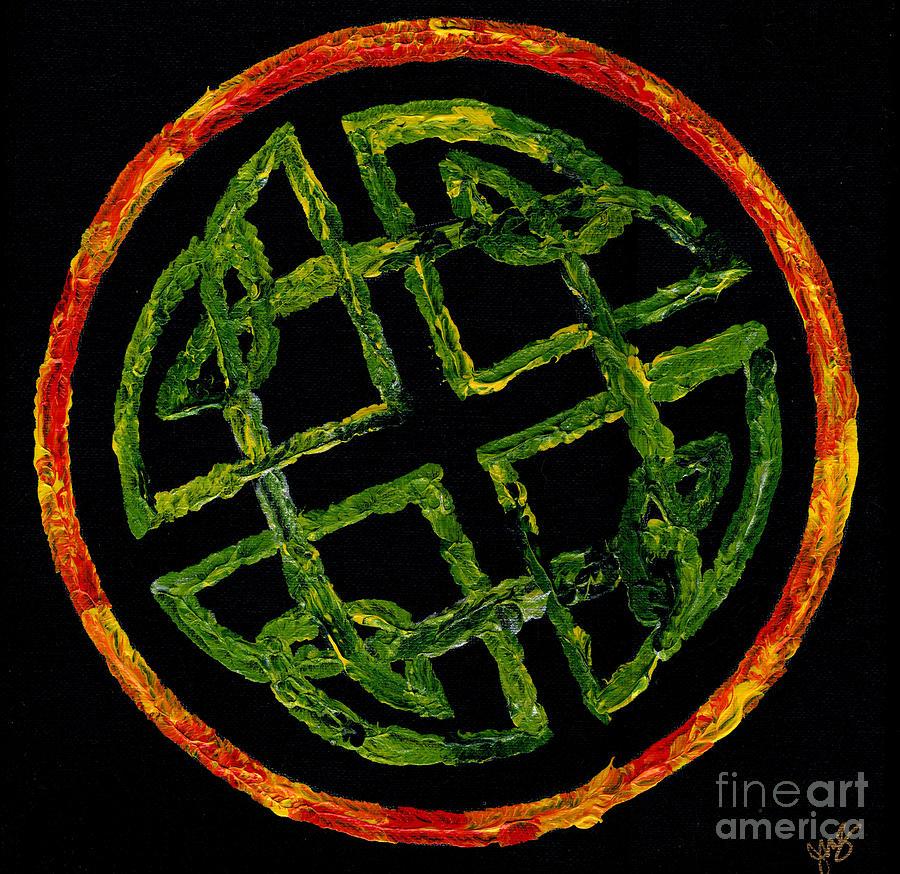 Celtic Knot by Julia Stubbe