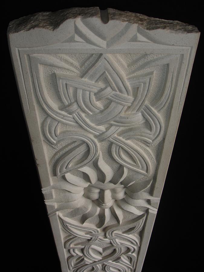 Sun Sculpture - Celtic Sun by Paul Holbrecht