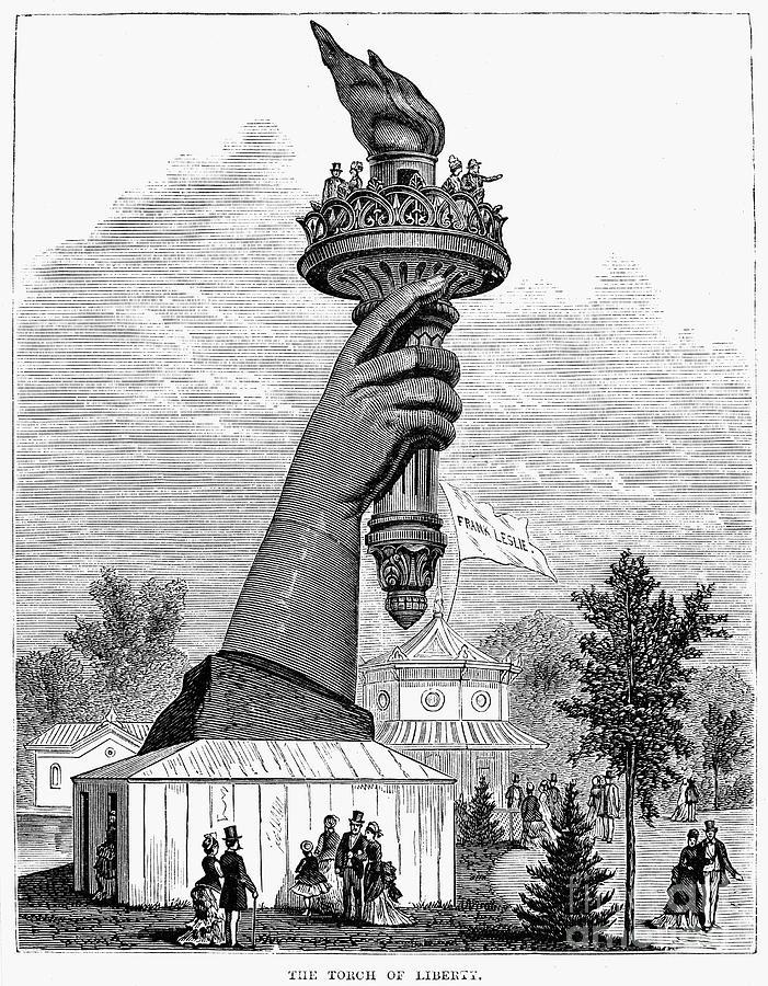 1876 Photograph - Centennial Fair, 1876 by Granger