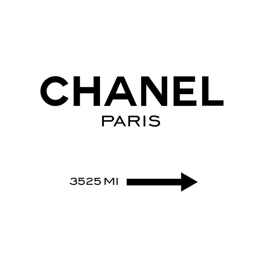 Chanel Digital Art - Chanel Paris by Tres Chic