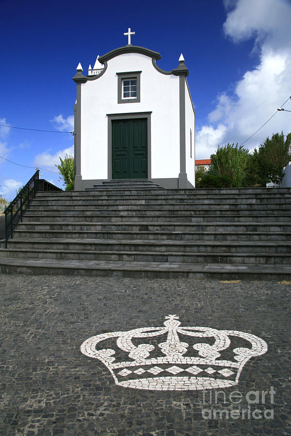 Azores Islands Photograph - Chapel In The Azores by Gaspar Avila