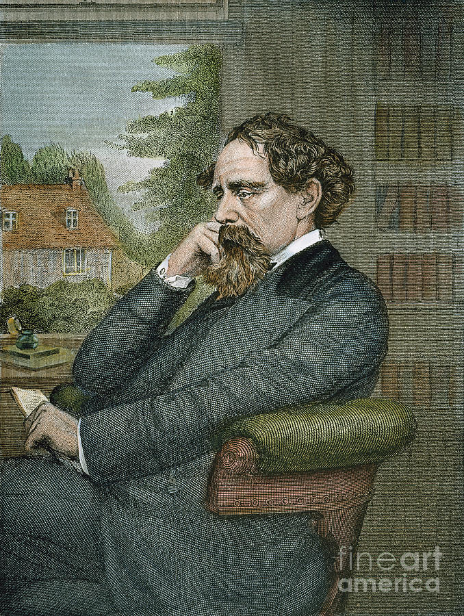 19th Century Photograph - Charles Dickens by Granger