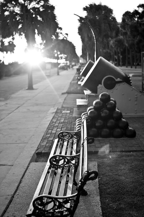 Charleston Photograph - Charleston Battery Sunset by Dustin K Ryan