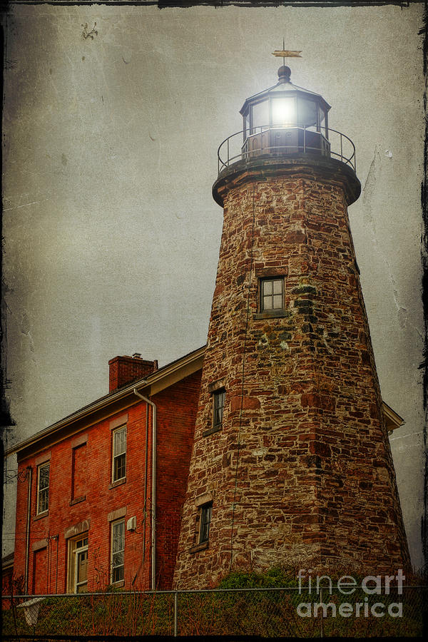 Lighthouse Photograph - Charlotte Genesee Lighthouse by Joel Witmeyer