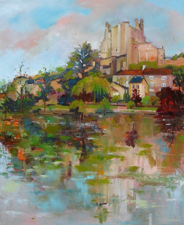 Chauvigny Painting