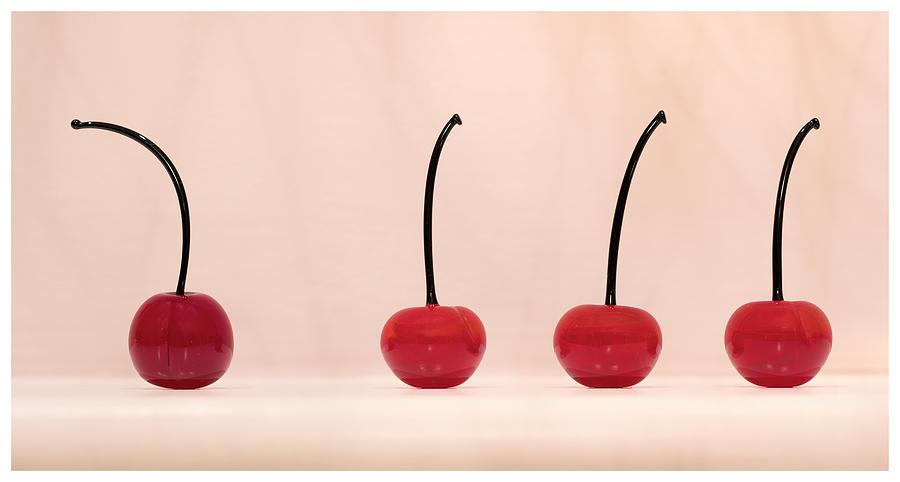 Cherries - white border by Paul Schreiber