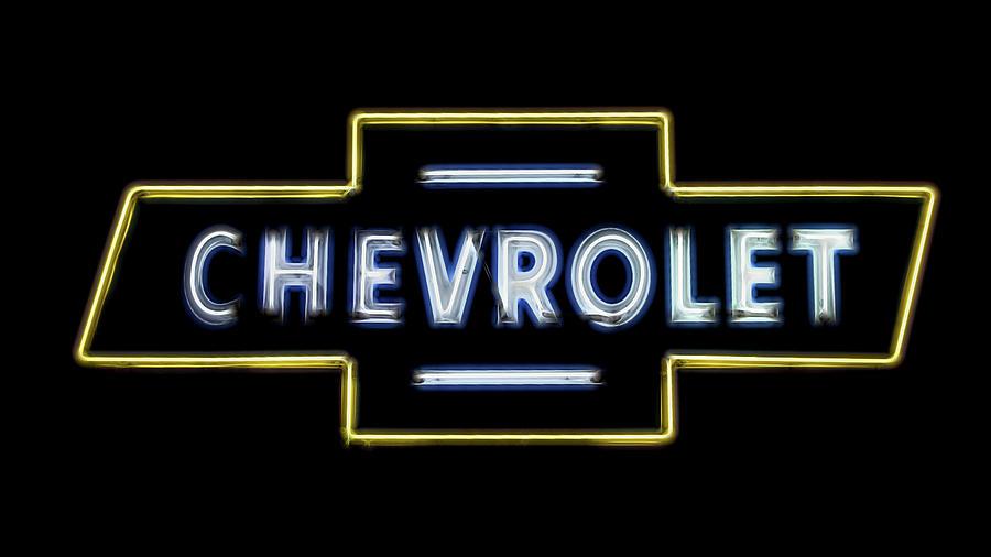 Chevrolet Photograph - Chevrolet by Stephen Stookey