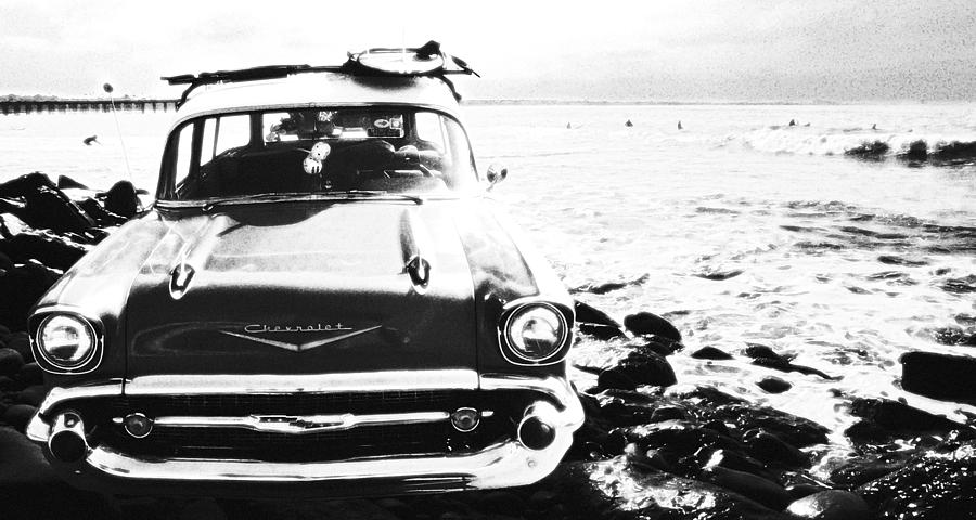 Chevy Photograph - Chevy On The Rocks by Ron Regalado