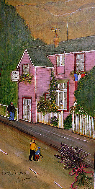 Chez La Mer Painting by Katie Ross
