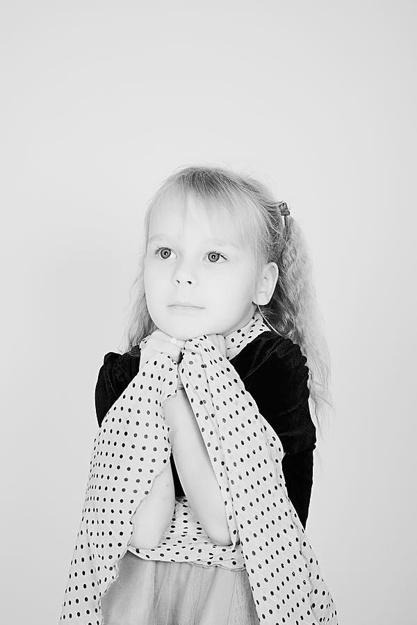 Child Photograph - Child by Anna Smaragdina