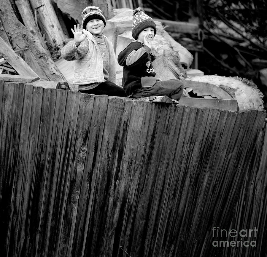 Children Photograph - Childhood by Gabriela Insuratelu