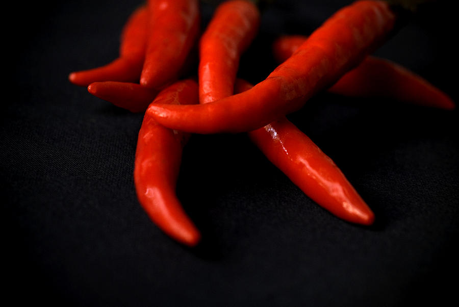 Food Photograph - Chili Peppers by Jessica Wakefield