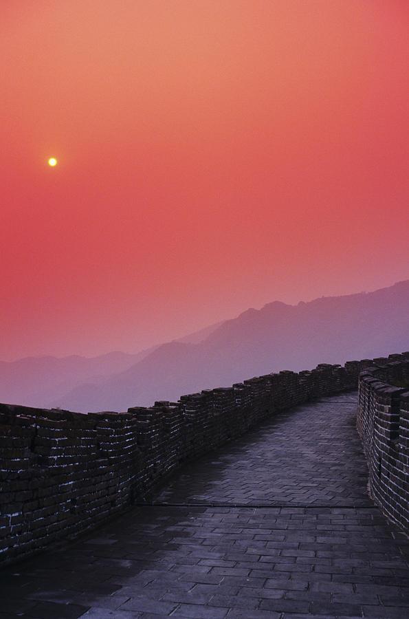 Afar Photograph - China, Mu Tian Yu by Gloria & Richard Maschmeyer - Printscapes