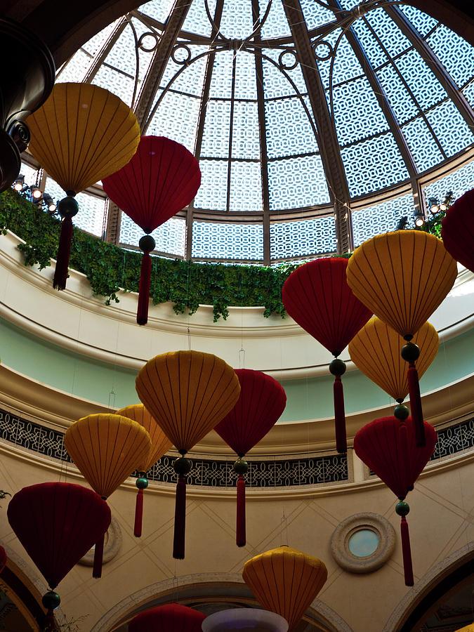 America Photograph - Chinese Lanterns by Rae Tucker