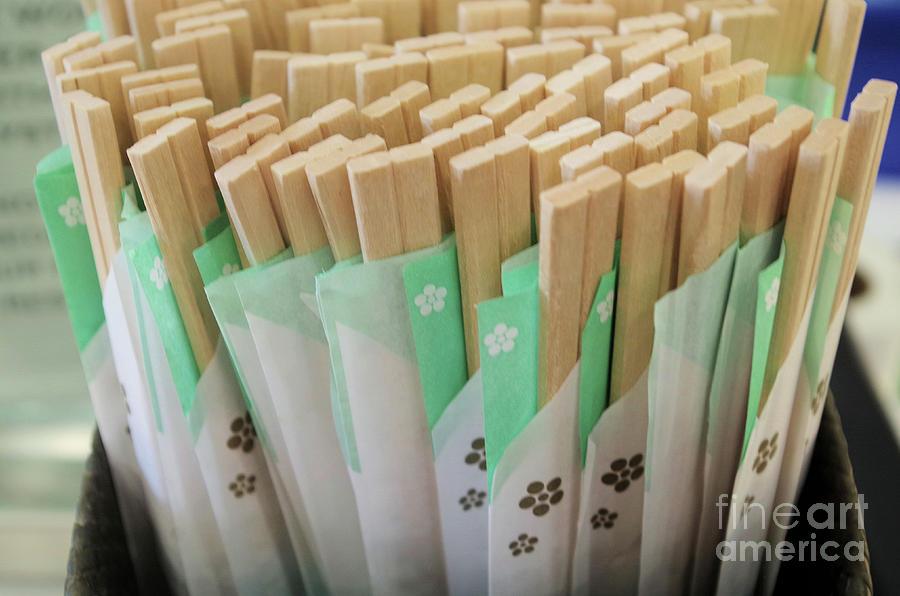 Chop Sticks Photograph