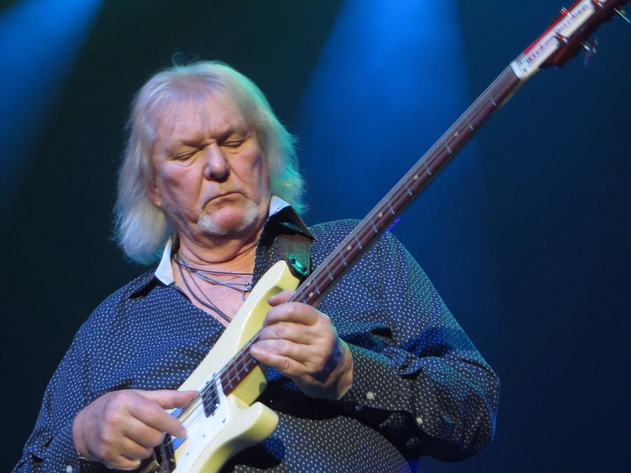 2014 Photograph - Chris Squire - Yes by R Kratz