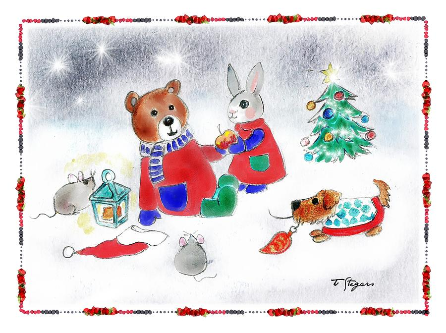 Christmas Friends by Tarja Stegars