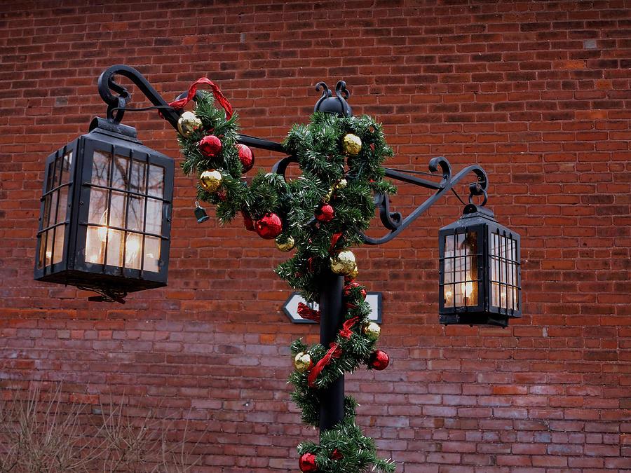 Christmas Photograph - Christmas Lamps by Craig Hosterman