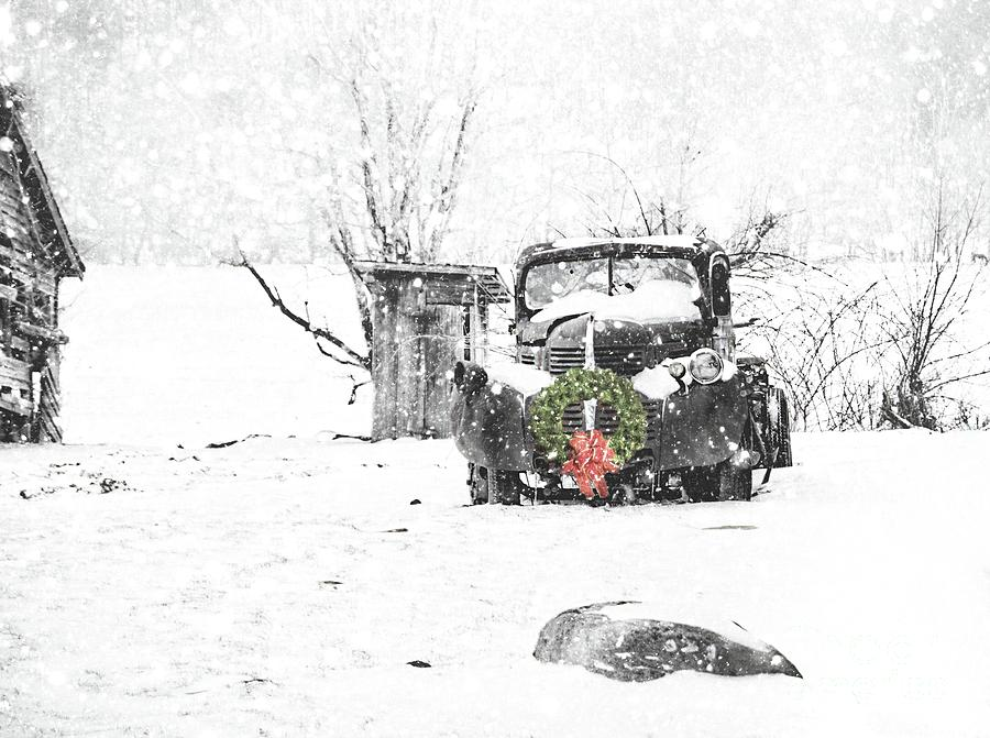 Christmas Truck by Benanne Stiens