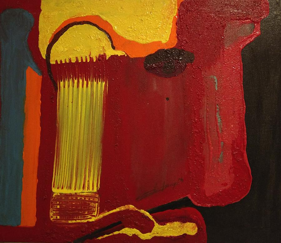 Jesus Christ Painting - Christs Profile by Edward Longo