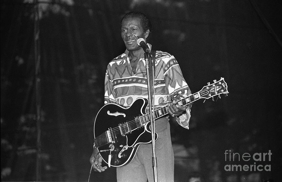 Chuck Berry Photograph - Chuck Berry by Concert Photos