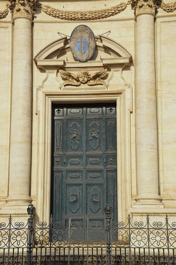 Italy Photograph - Church Entry by JAMART Photography