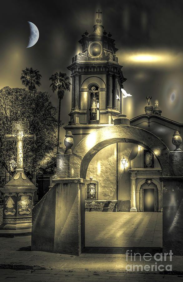 Church in Bernal by Barry Weiss