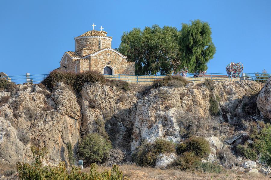 Paralimni Photograph - Church Of Profitis Elias - Cyprus by Joana Kruse