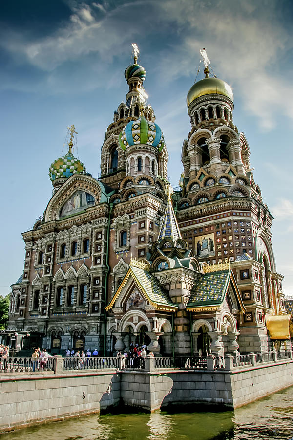 Church of The Savior on Blood by KG Thienemann