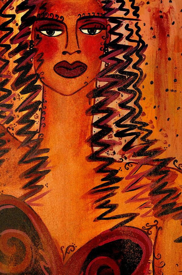 Cigars Painting - Cigar Makers Daughter by Helen Gerro