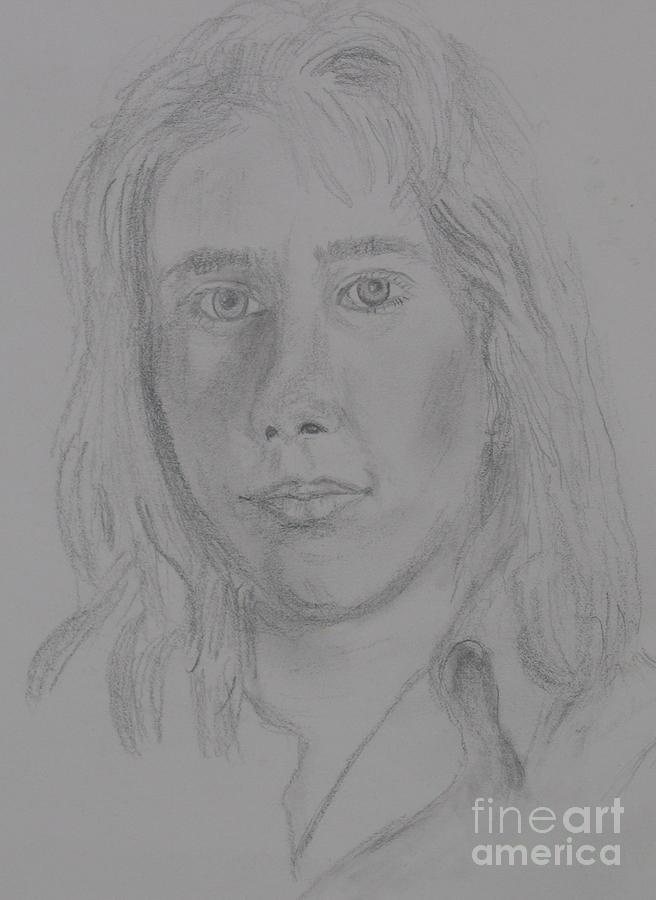 Portrait Drawing - Cindy by Marlene Robbins
