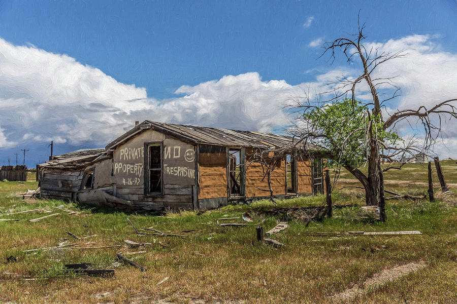 Cisco, Utah, Ghost Town by Janice Bennett