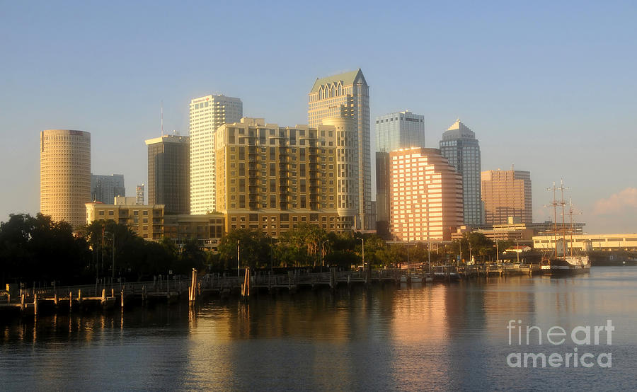 City Photograph - City By The Bay by David Lee Thompson
