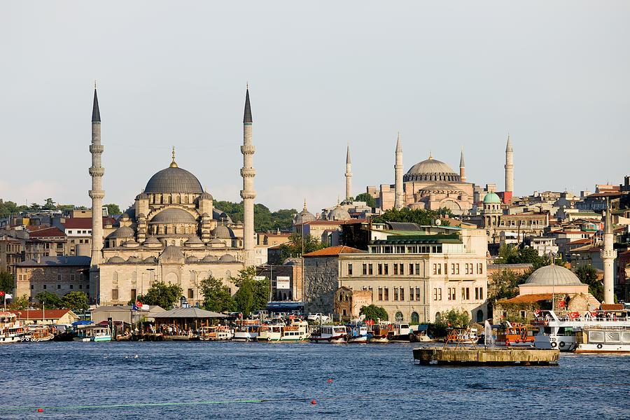 Landmark Photograph - City Of Istanbul by Artur Bogacki