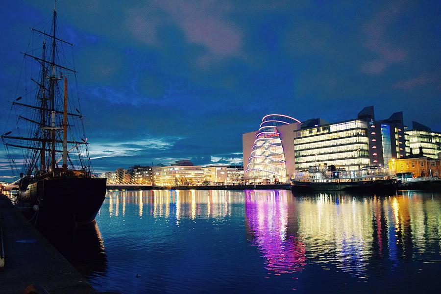 Dublin Skyline Photograph