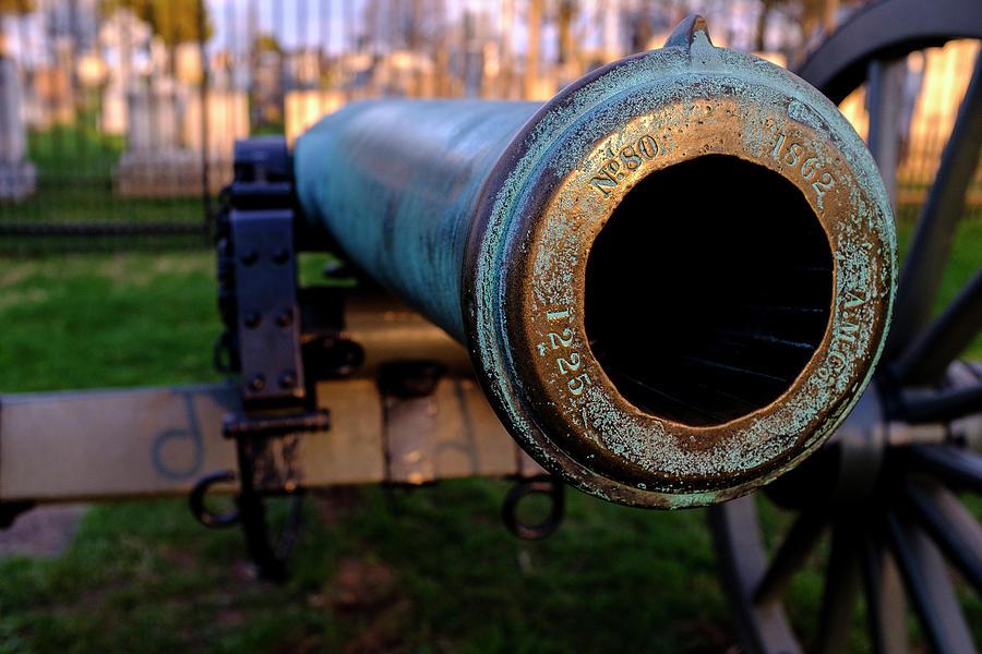 Civil War Cannon 1862 In Gettysburg PA by John McLenaghan