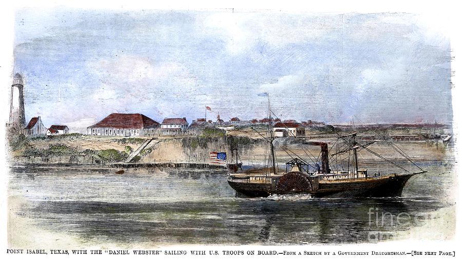 1861 Photograph - Civil War: Union Steamer by Granger