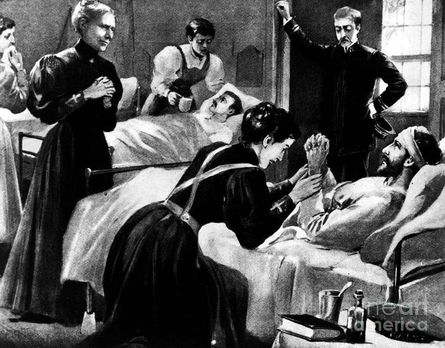 1898 Photograph - Clara Barton (1821-1912) by Granger