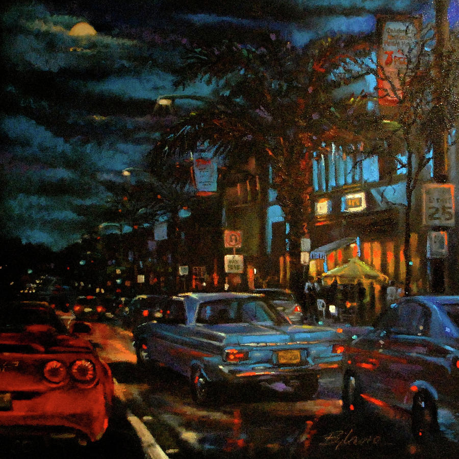 Cityscapes Painting - Classic Nights by BJ Lane