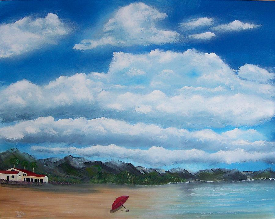Clouds Painting - Clouds by Tony Rodriguez