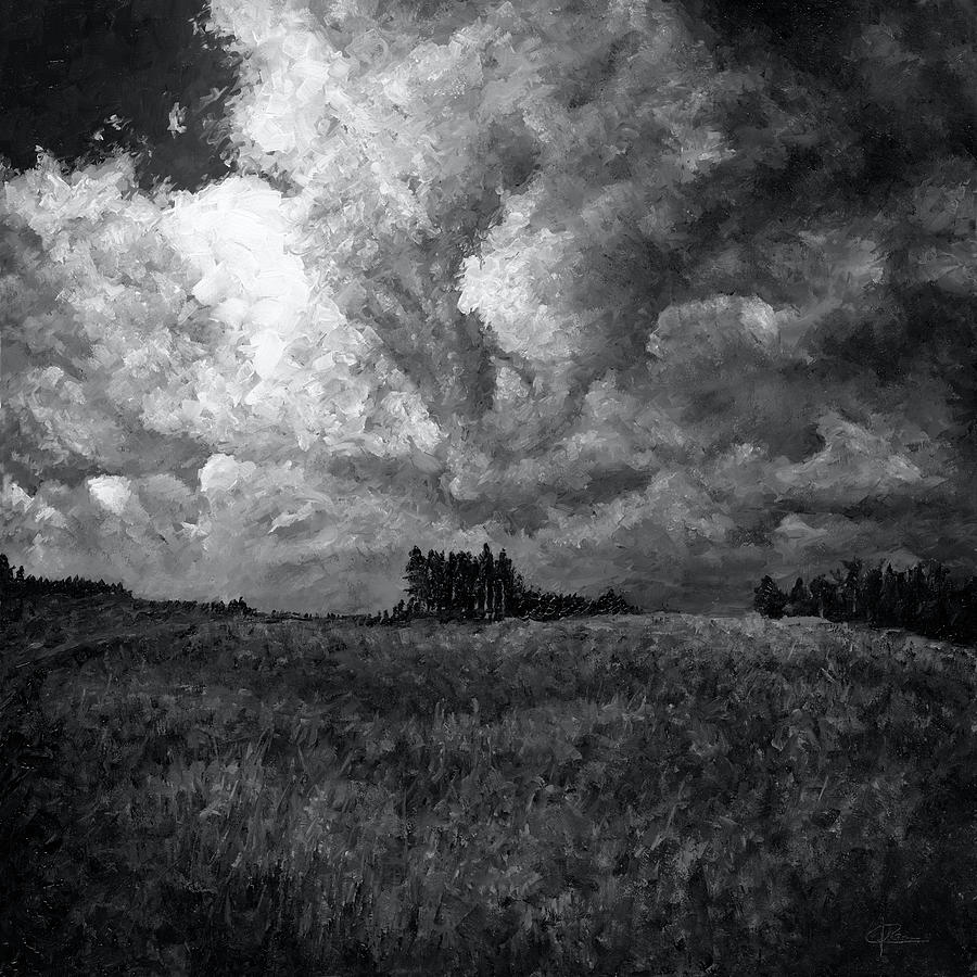 Cloudchaser Painting - Cloudscape 1 by Christian Klute